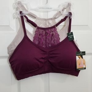 New!!! 2 pack lace bralettes shorts bras XL